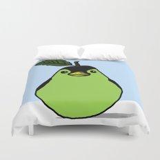 Penguin + Pear = Pearguin  Duvet Cover