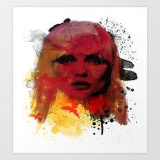 Debbie Harry - Blondie Art Print