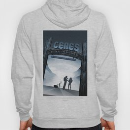NASA Visions of the Future - Ceres, Queen of the Asteroid Belt Hoody