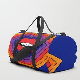 Pop Lips Duffle Bag