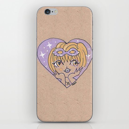 Little Heart Costume Time iPhone & iPod Skin