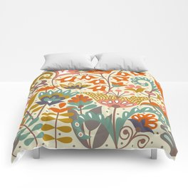 Forest flowers Comforters
