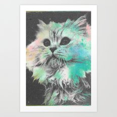 Here Kitty Kitty Art Print
