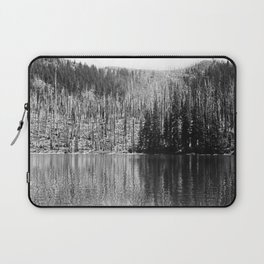 Reflection of Trees On Water Laptop Sleeve