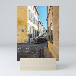 streets of avignon Mini Art Print