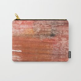 Sienna colored watercolor Carry-All Pouch