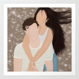 Shawn+Camila Art Print