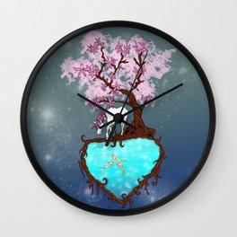 Last Unicorn Wall Clock