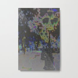 For if one sense falters, the rest can be altered. Metal Print