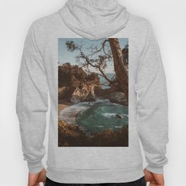 Big Sur Sunset at McWay Falls Hoody