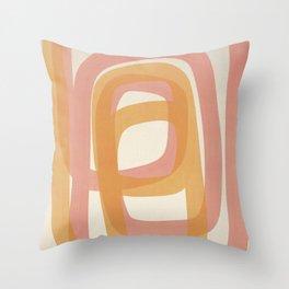 Valentine #9 - Abstract Art Print Throw Pillow