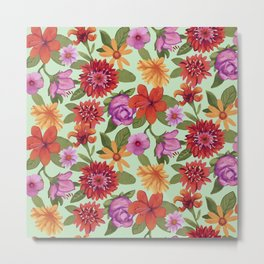 Flower Florest Metal Print