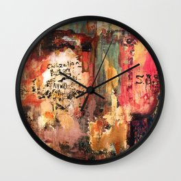 Stomping Ground Wall Clock