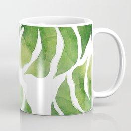 Monstera watercolor I Coffee Mug
