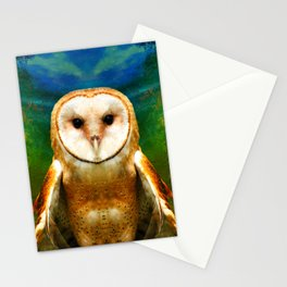 Her Memory Enshrouds My Heart (brighter version) Stationery Cards