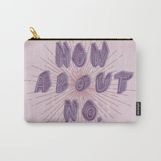 How about no (purple) Carry-All Pouch