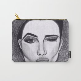 Kissy Winky Face Carry-All Pouch