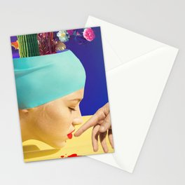 """""""fish love"""" valentines series by weart2.com Stationery Cards"""