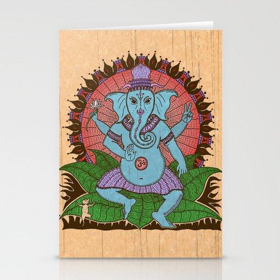 peace ganesh Stationery Cards