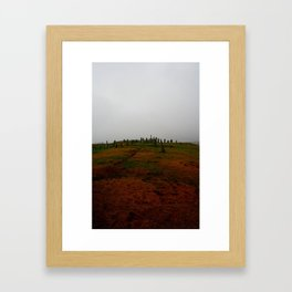 Standing Stones at Callanish Framed Art Print