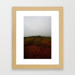 Standing Stones at Callanish Framed Art Print