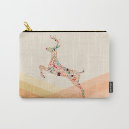 Christmas reindeer 5 Carry-All Pouch