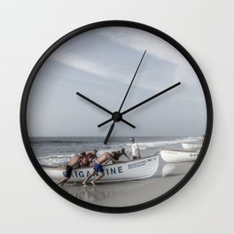 Beach Patrol, Jersey Shore Wall Clock