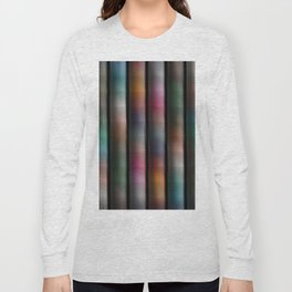 Colours Abound Soft Tones- Multicolor Stripes Long Sleeve T-shirt