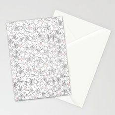 Cherry Blossom Pink Blocks Stationery Cards