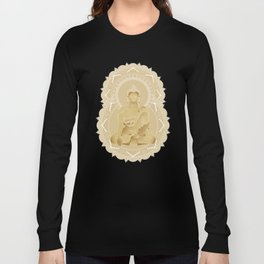 Gold buddha Long Sleeve T-shirt