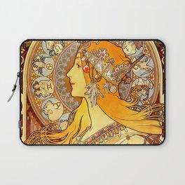 "Alphonse Mucha ""Zodiac"" Laptop Sleeve"