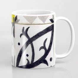 JD_tiled floor1–gouache Coffee Mug