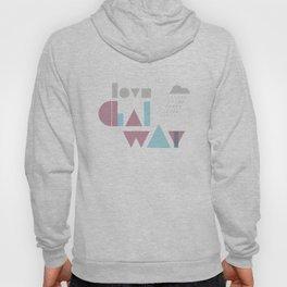 Love Galway - Typography Hoody