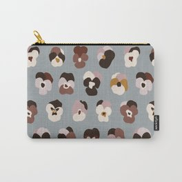 Funky Flowers Carry-All Pouch