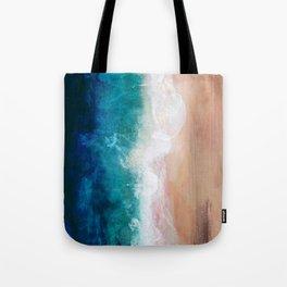 Watercolour Summer Beach IV Tote Bag
