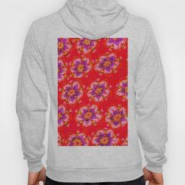 Red Autumn Violet Hoody