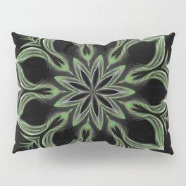 Alien Mandala Swirl Pillow Sham