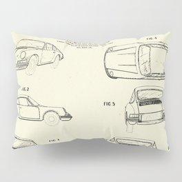 Automobile Porsche-1964 Pillow Sham
