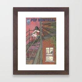 W Woman Framed Art Print