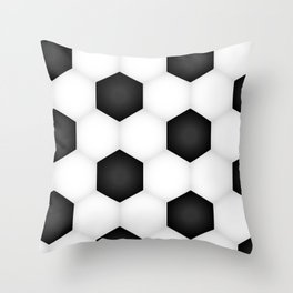 Soccer (Fooball) Ball Throw Pillow