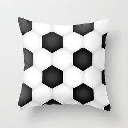 Soccer (Football) Ball pattern Throw Pillow