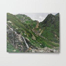 Green Alps Metal Print