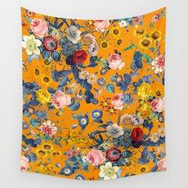Summer Botanical Garden IX Wall Tapestry