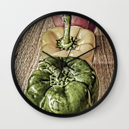 Peppered Wall Clock