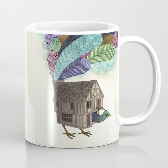 birdhouse revisited Mug