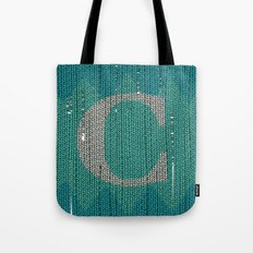 Winter clothes. Letter C. Tote Bag