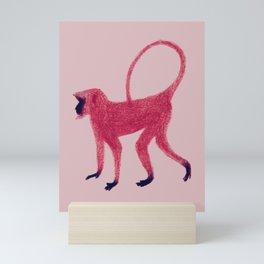 Red Monkey Mini Art Print