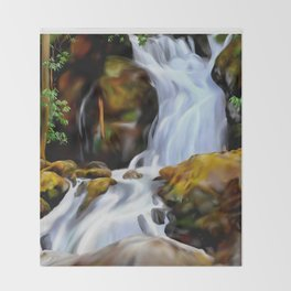 Cary Falls Throw Blanket