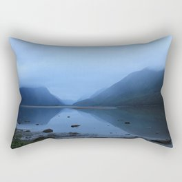 Mistful Reflection Rectangular Pillow