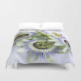 pation flowers Duvet Cover